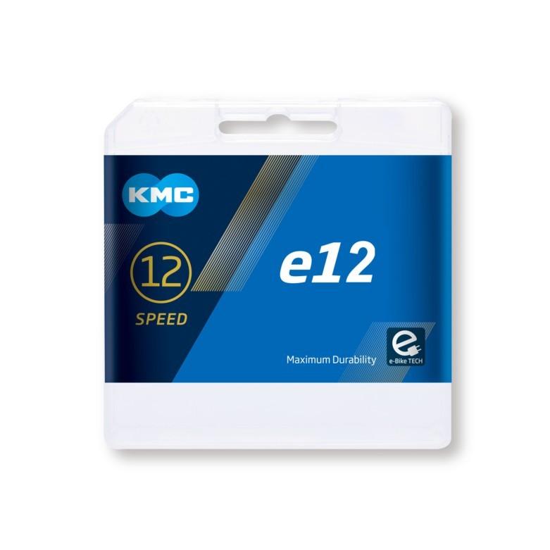 Cadena KMC eBike e12v Oro 130 eslabones