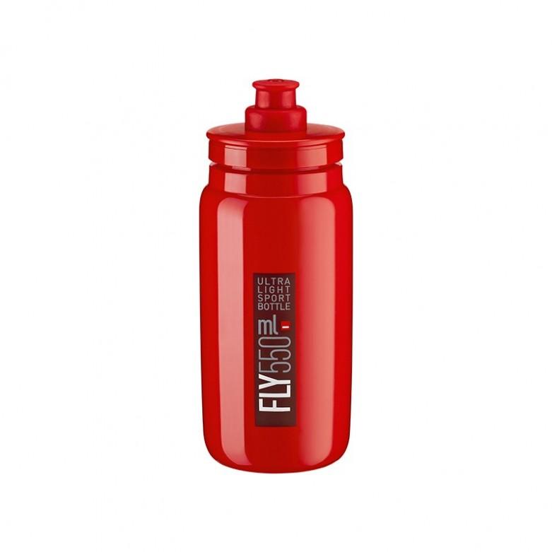 Bidón Elite Fly Rojo Logo Rojo...